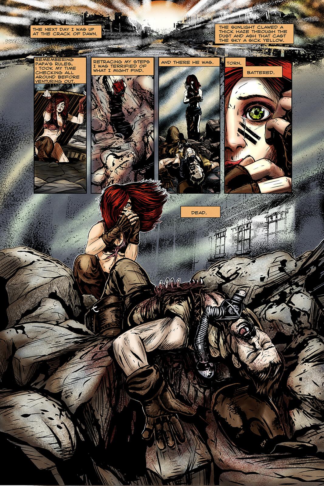 Apocalypse Girl #1 Page 8