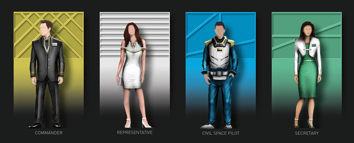Business class - workwear designs