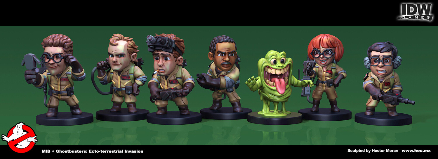 Full set of Ghostbusters