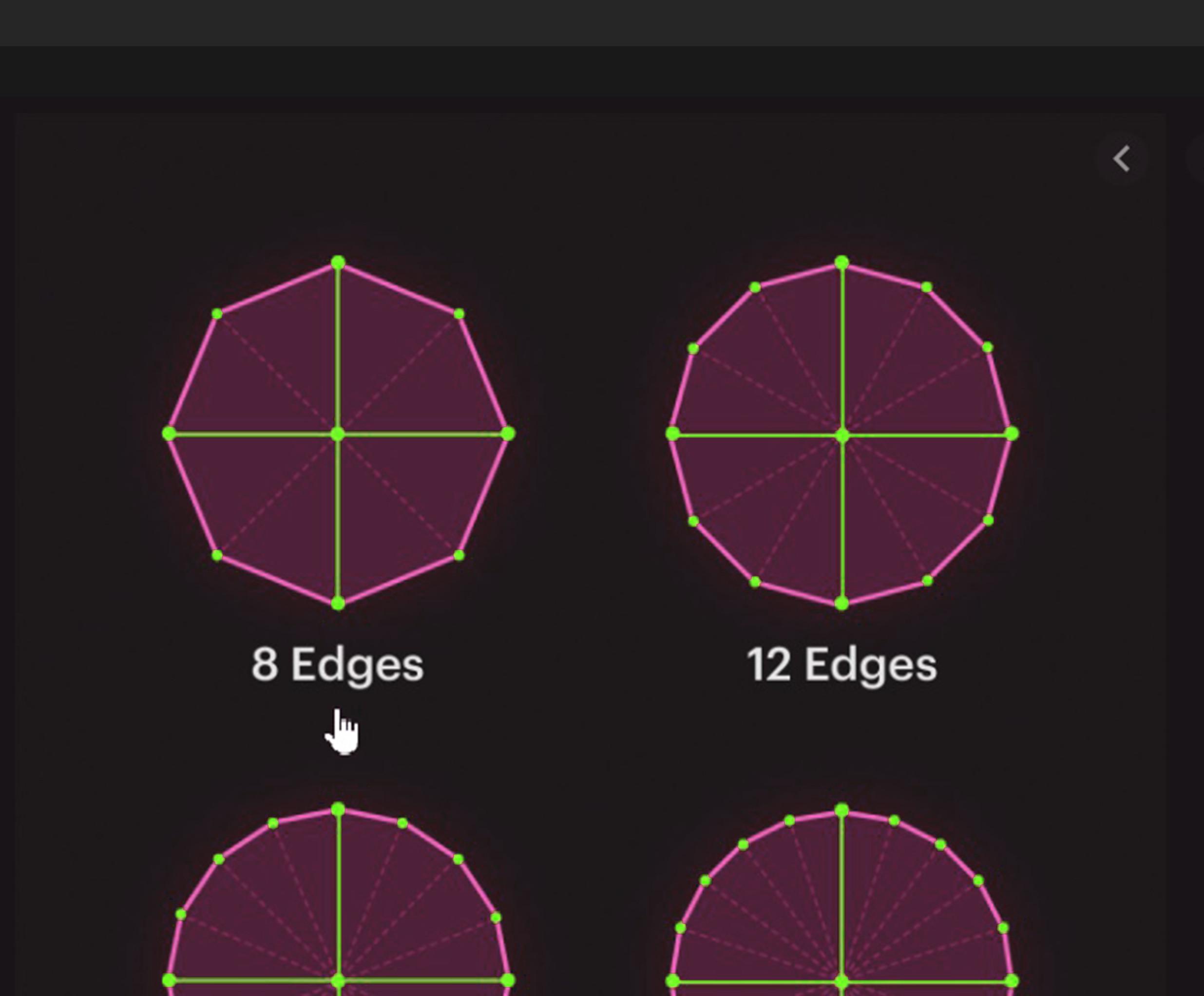 >>>>>>>> Octagon >>>>>>>> 8 sides circle. >>>>>>>>