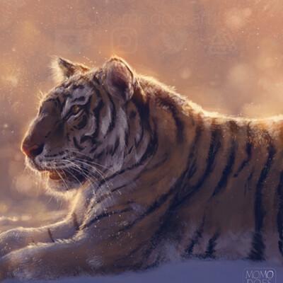 Bela rodrigues tiger study web