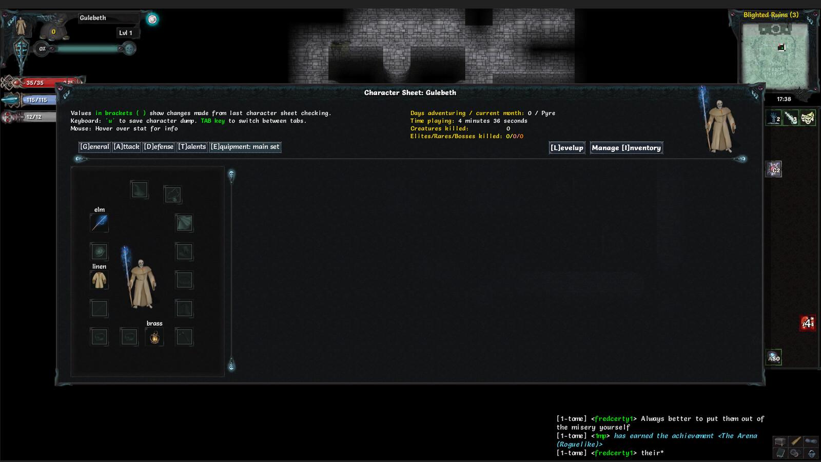 Spectre UI ingame