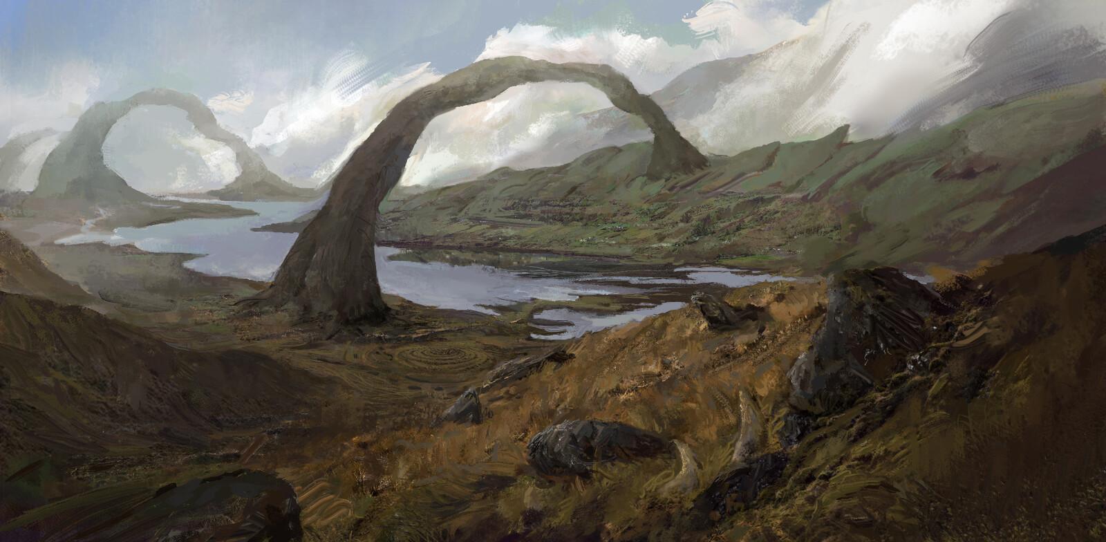 Wylfing lands