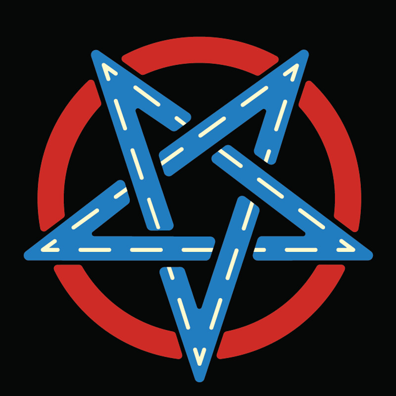 Pantagram Logo: Devil's Denim