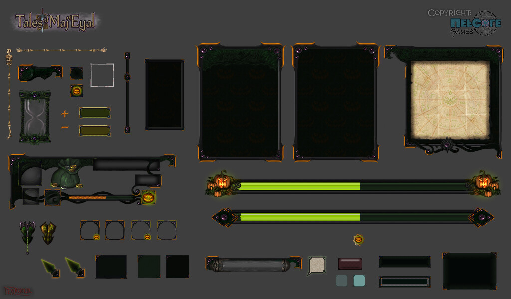 Plumpkin UI elements