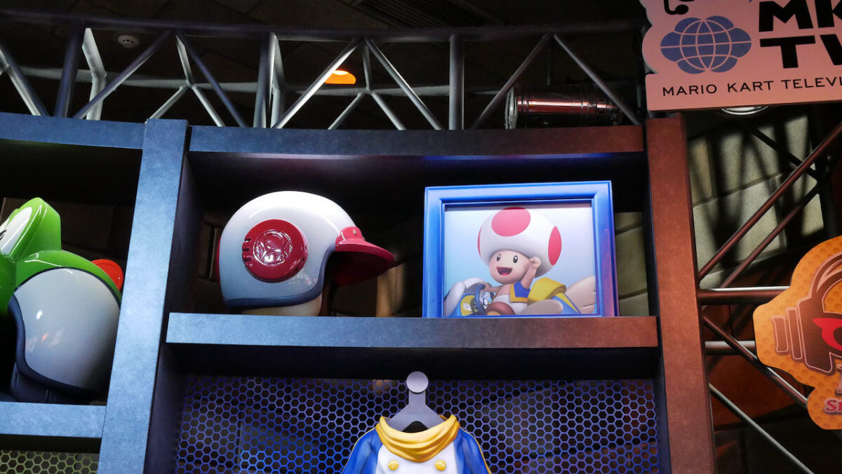 Close up of the Toad Helmet Photo Credit: UniversalParksNewsToday