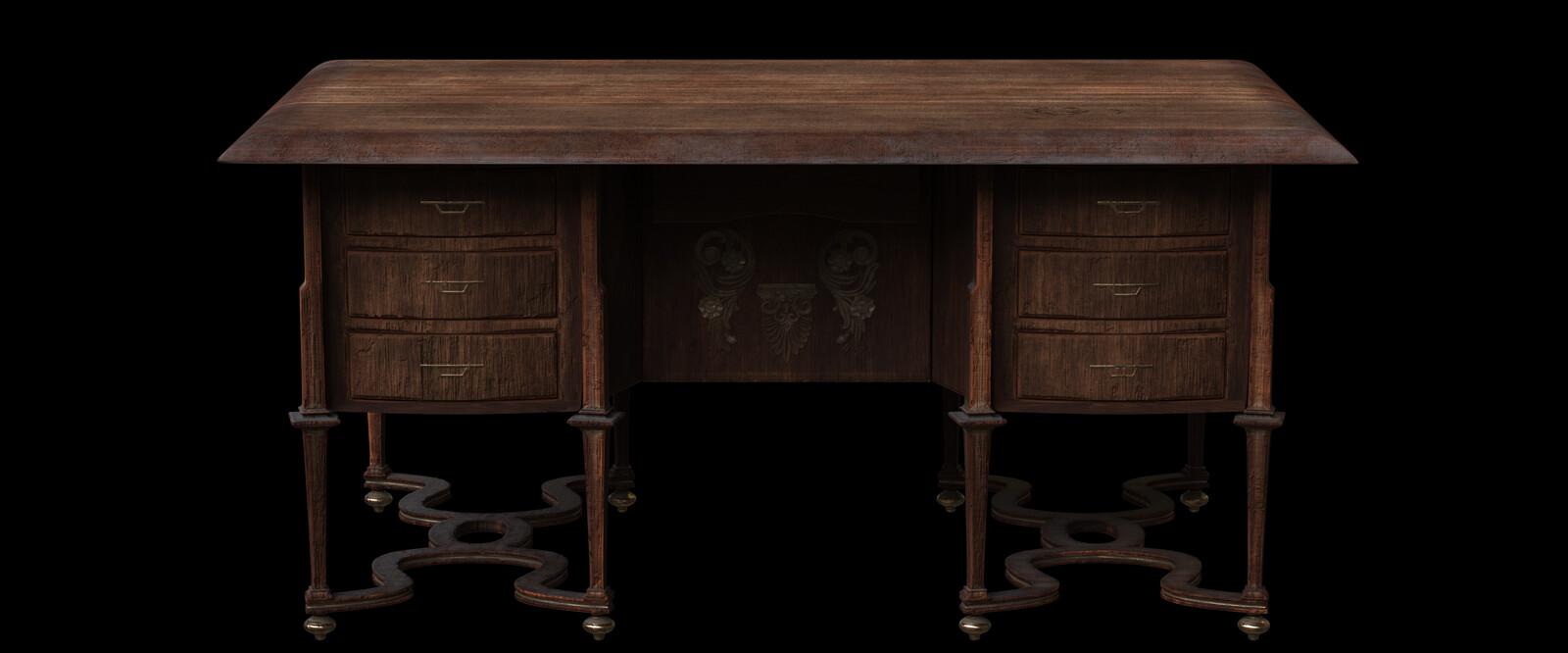 Same asset, the desk.