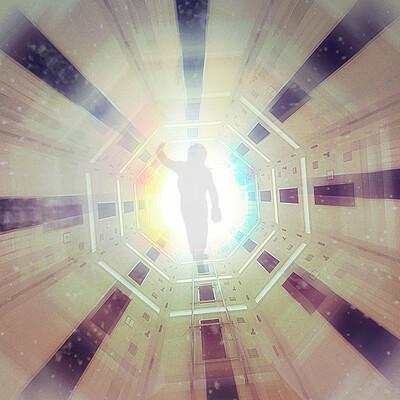 Paul wiz johnson 2001 a space odyssey poster