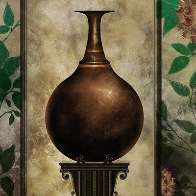 Waterlili jia 42 dark shadow i 36x36