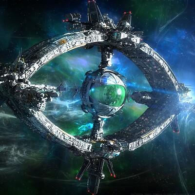 Yann souetre spaceship 02 odysseus renaissance