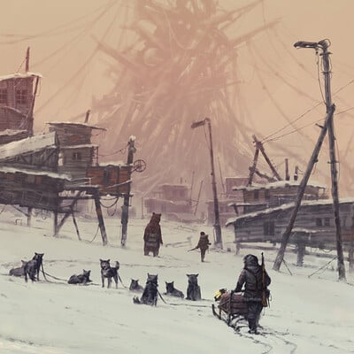 Jakub rozalski strange construction jr
