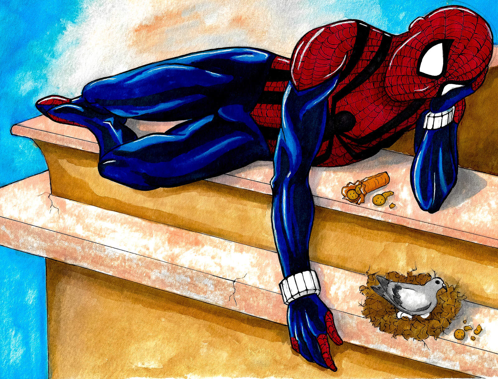 Ben Reilly Spider Man, fan art