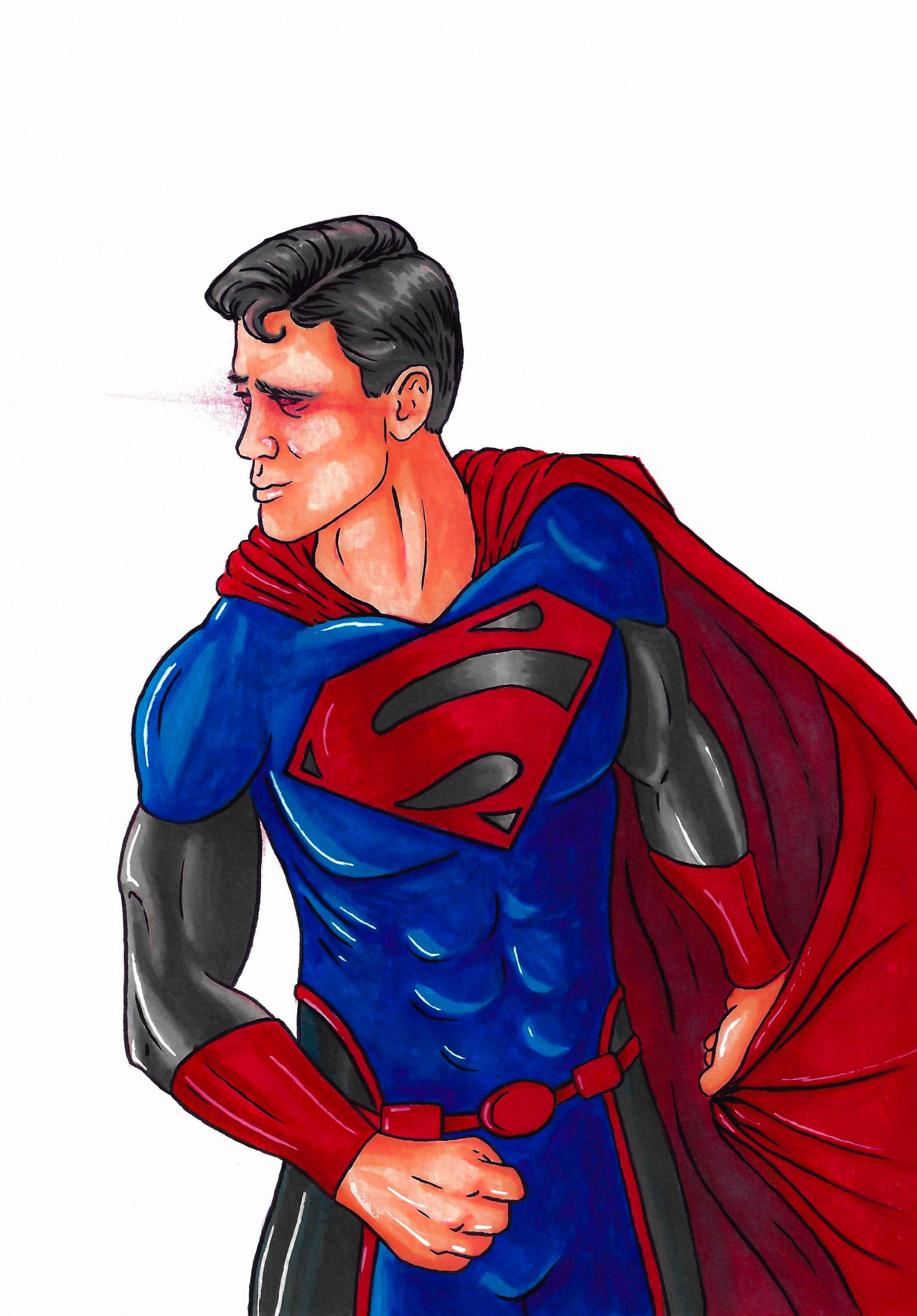 Super Man fan art. Original costume design
