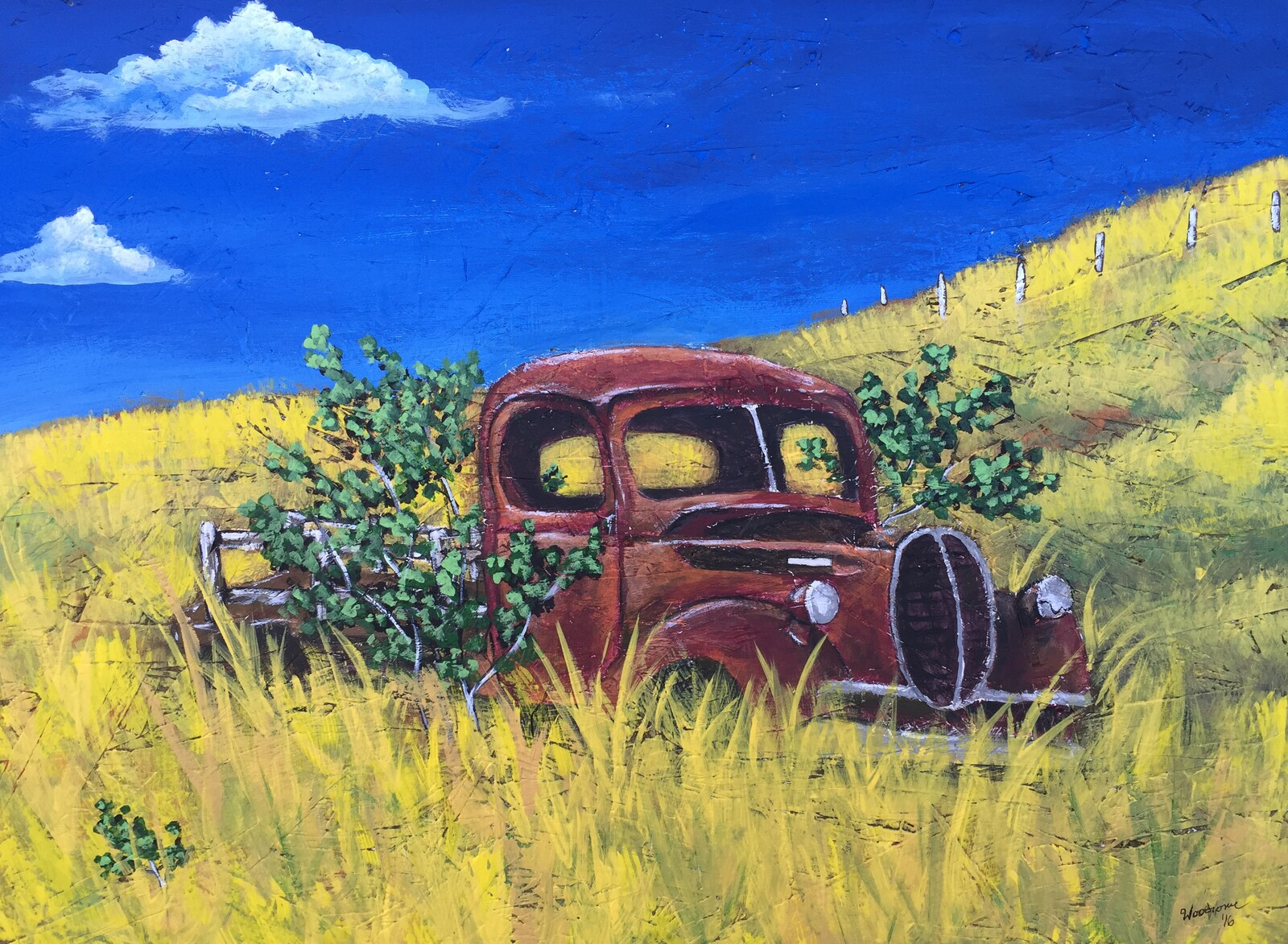 Old Truck painting