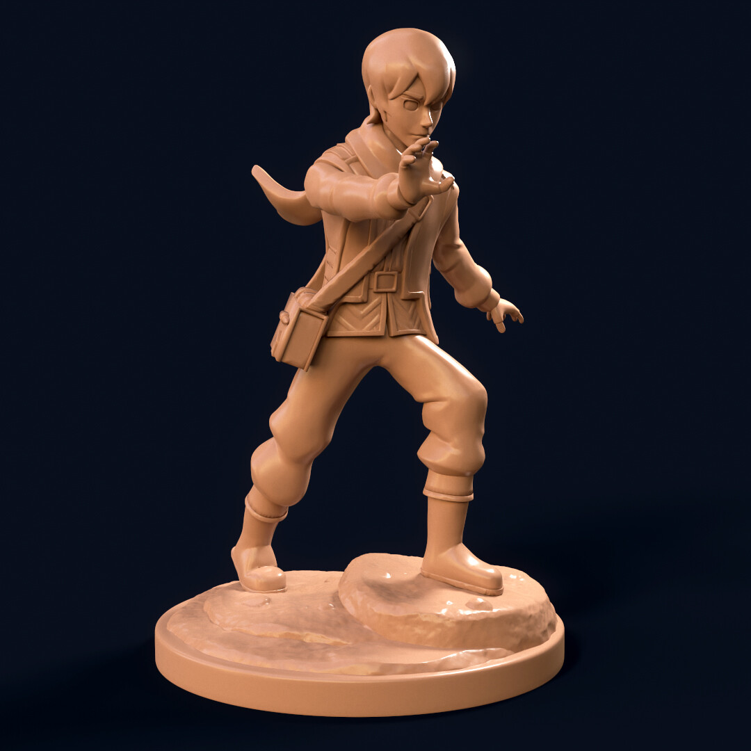 Initial 3D Concept Design for the Callum Miniature