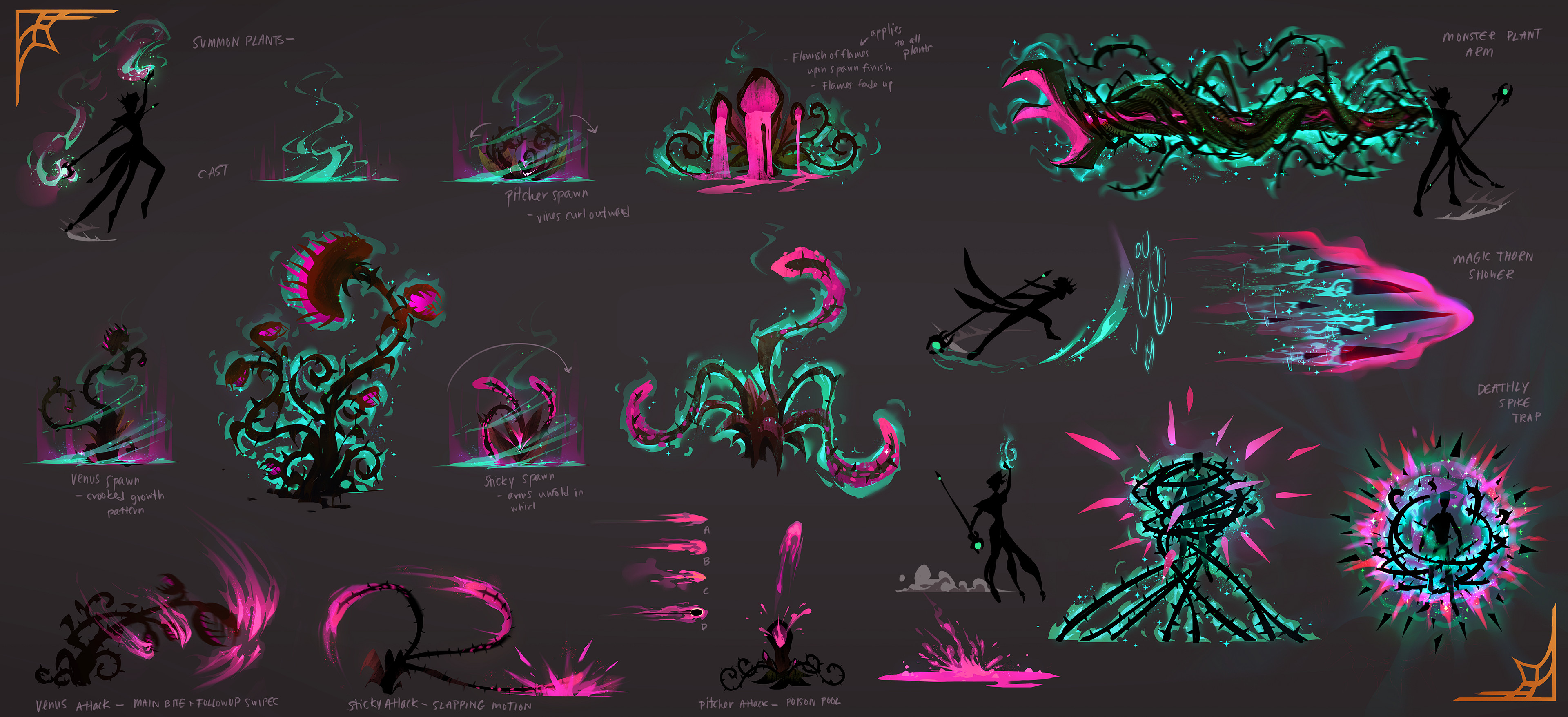 Leif VFX & Plant Attack Explorations