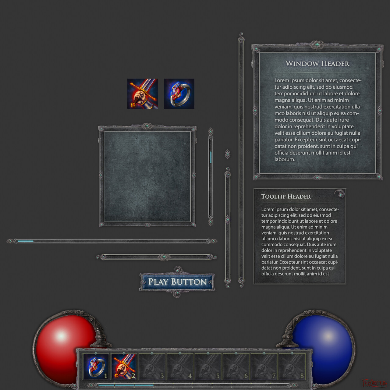The UI Elements