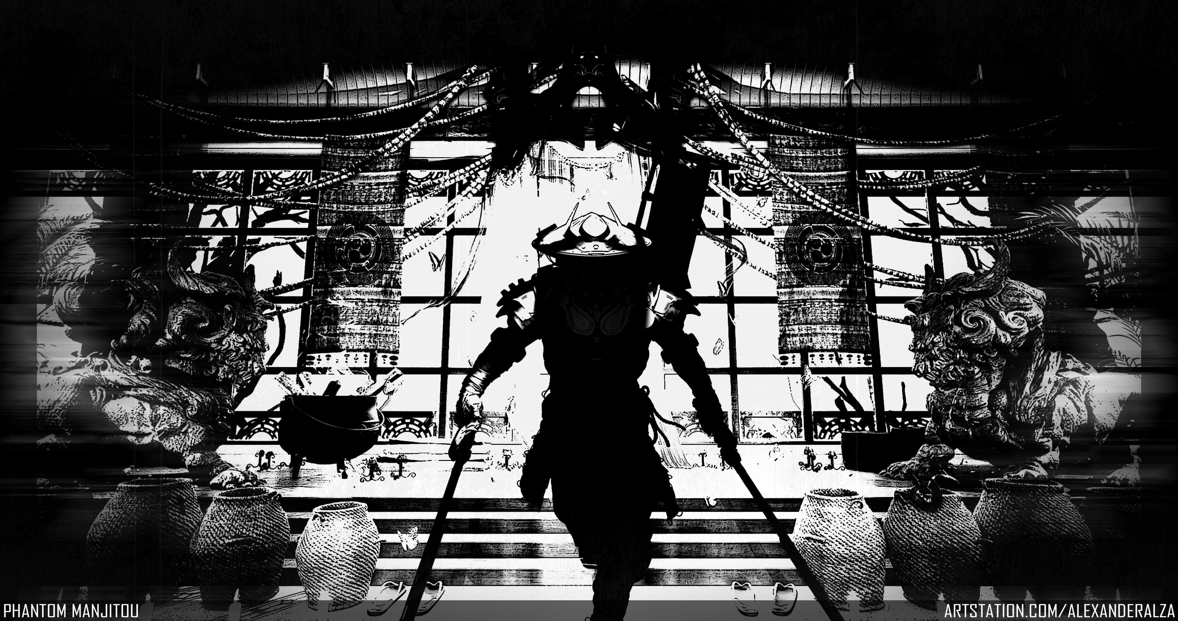 Phantom Manjitou - B&W Shot