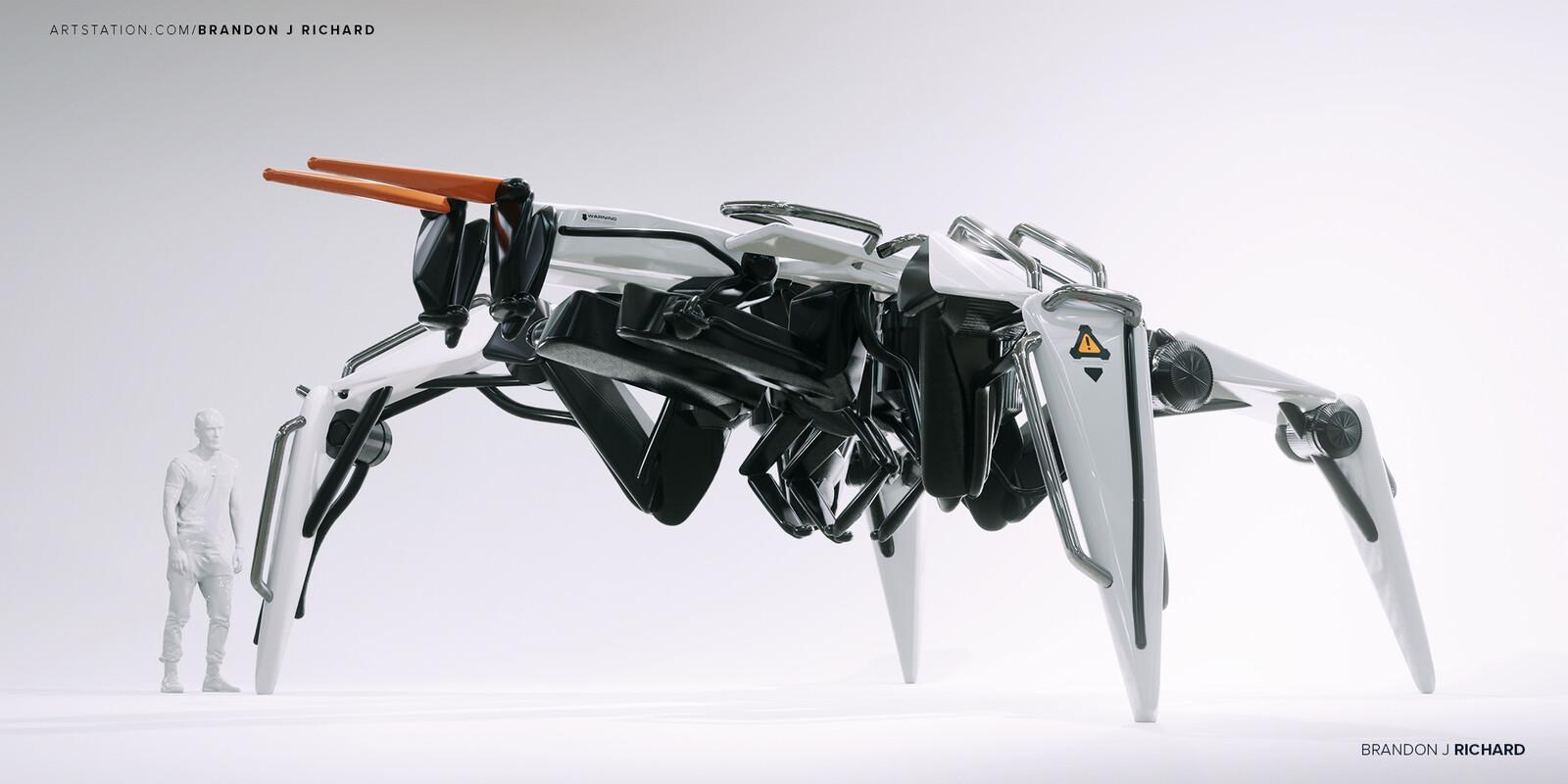 Hexapod Industrial Service Bot