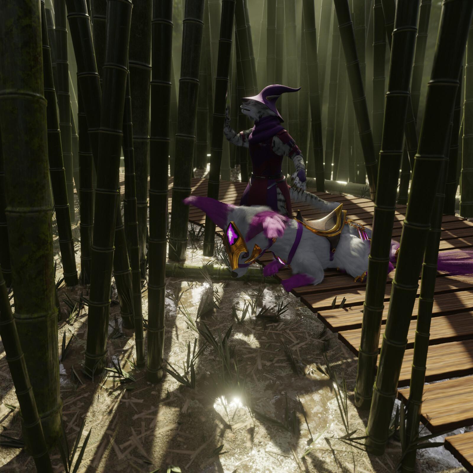 Countdown to Spring #15: Bamboo Garden