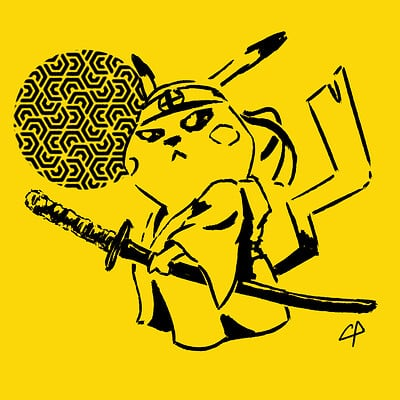 Pablo conde pikachu samurai