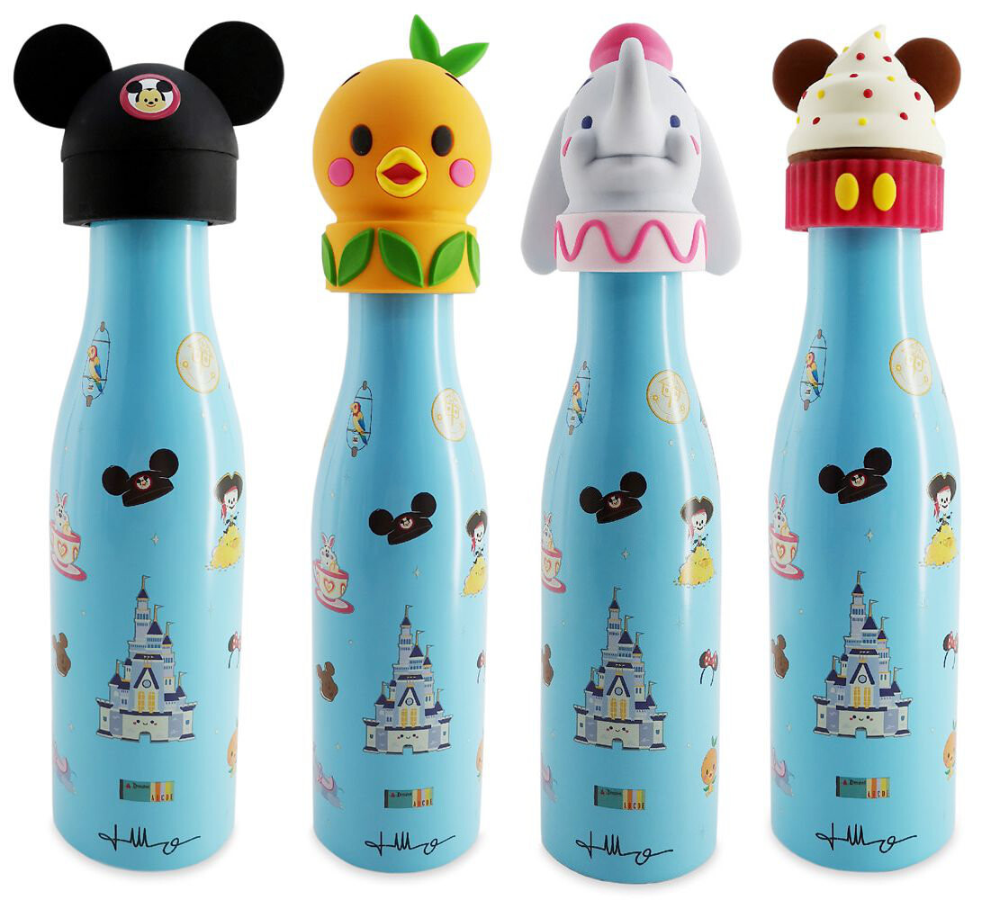Water Bottle Toppers - Actual Product Image