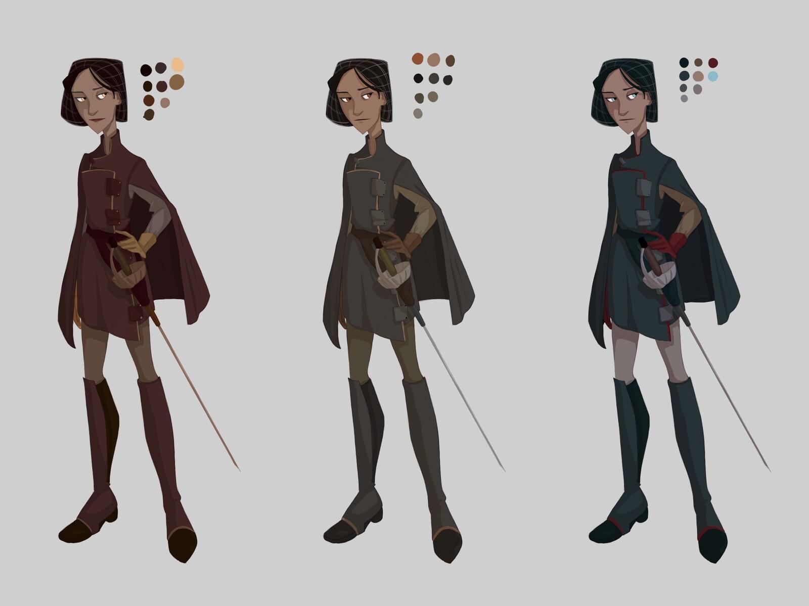 Katarina Character Design
