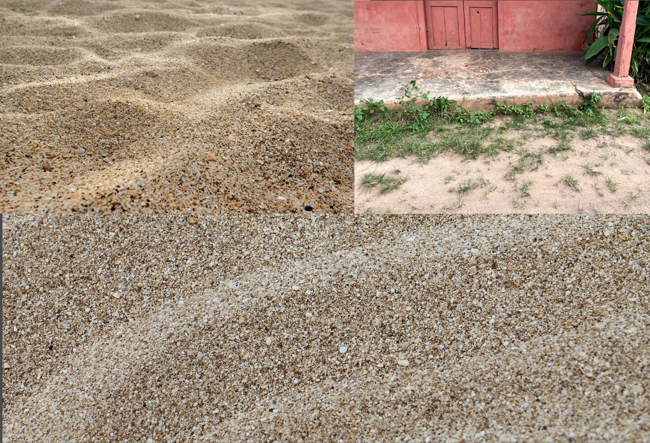 Sand Material References
