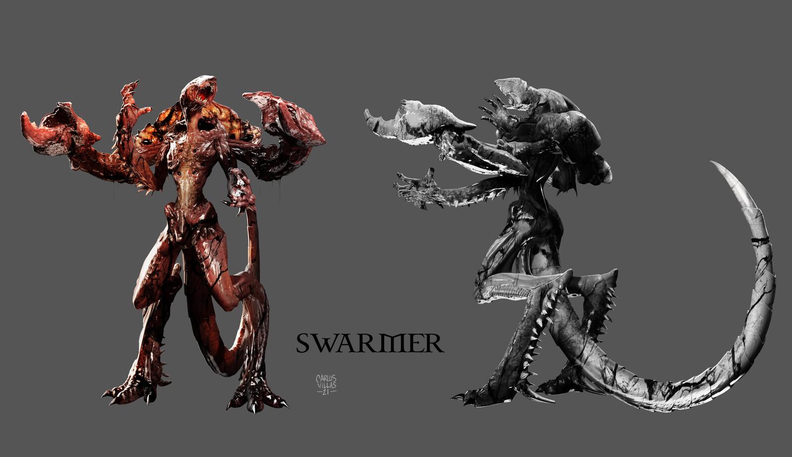 SWARMER - CONCEPT ART