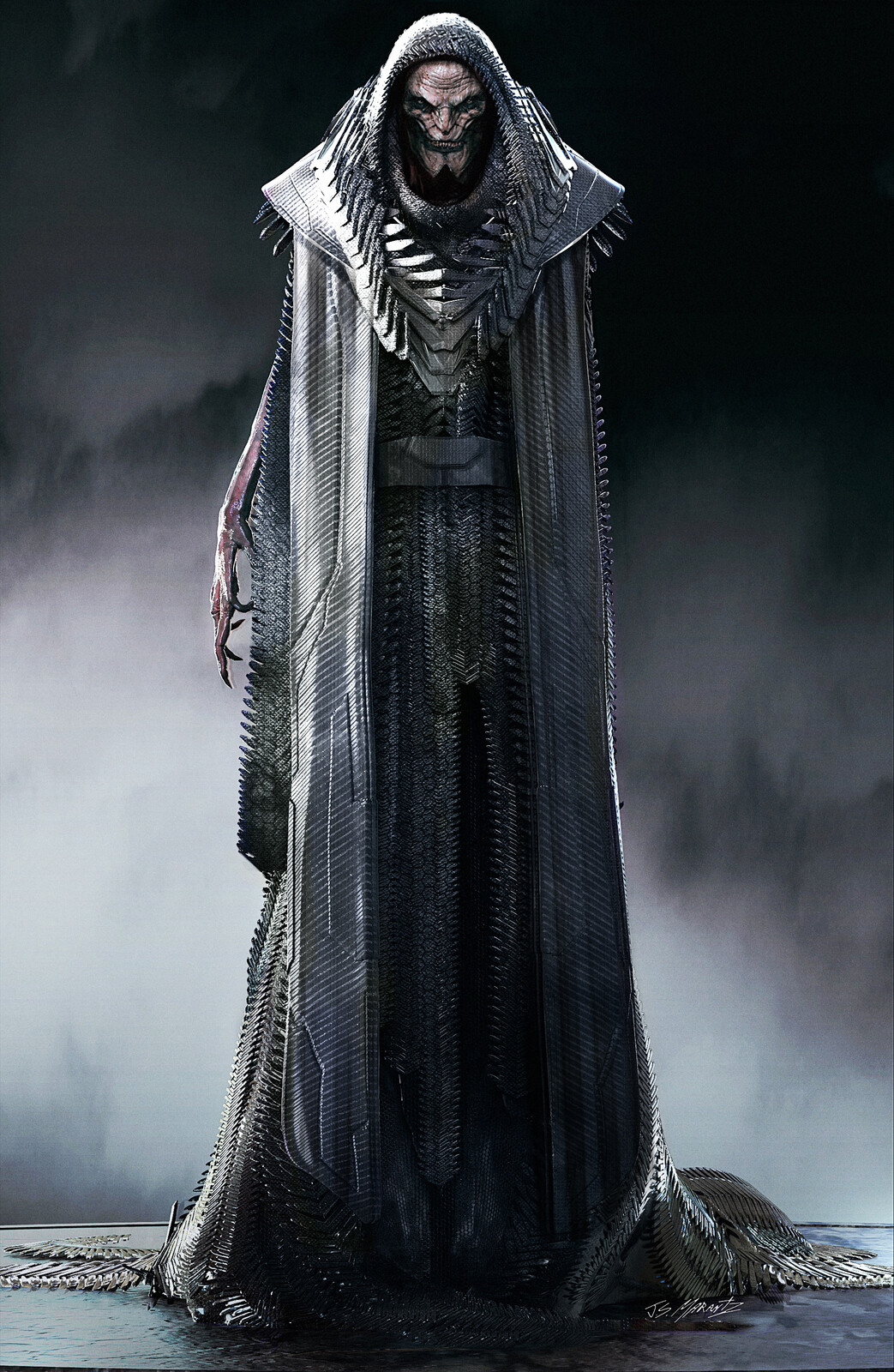 DESAAD Concept Art For Zack Snyder's Justice League