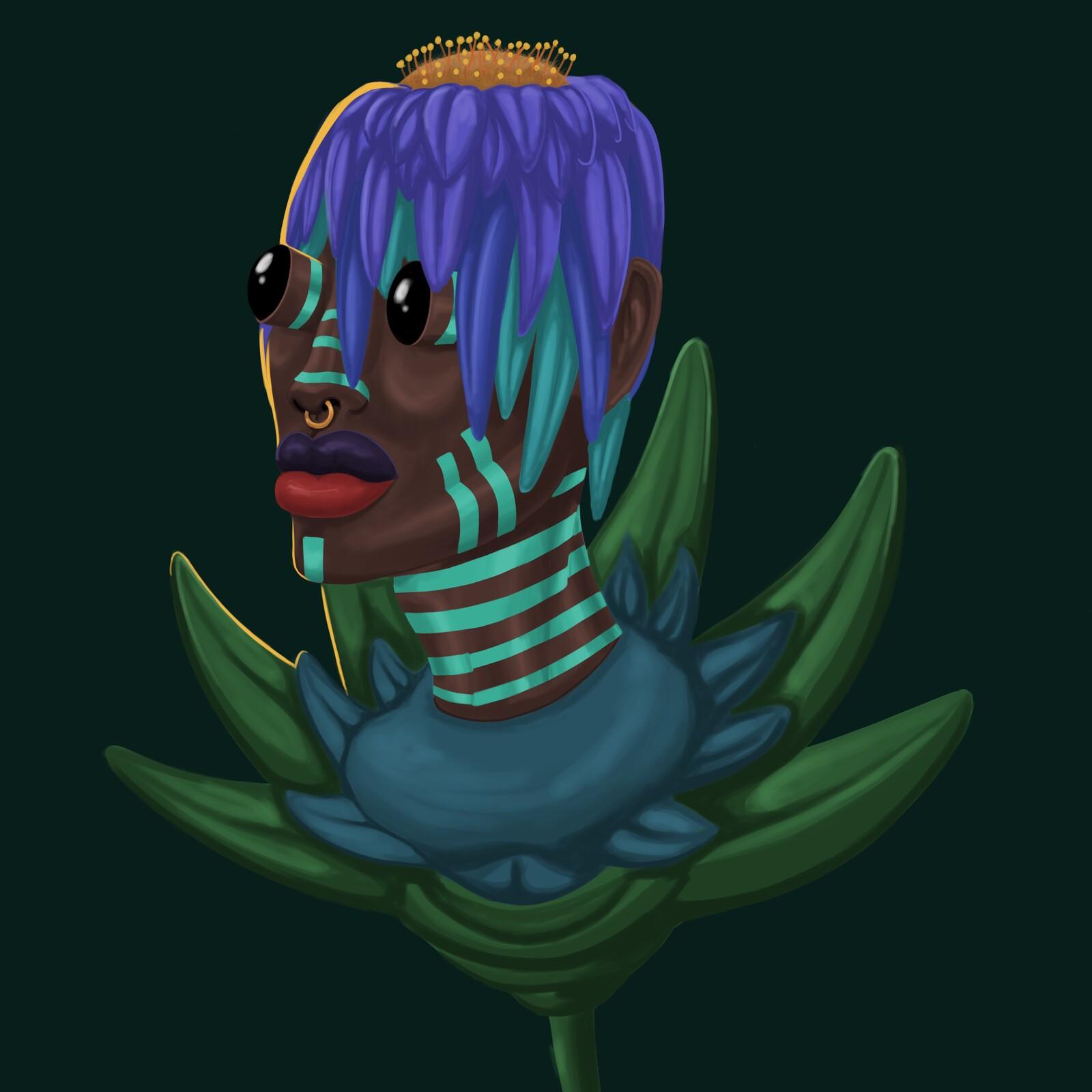 Flower head 3