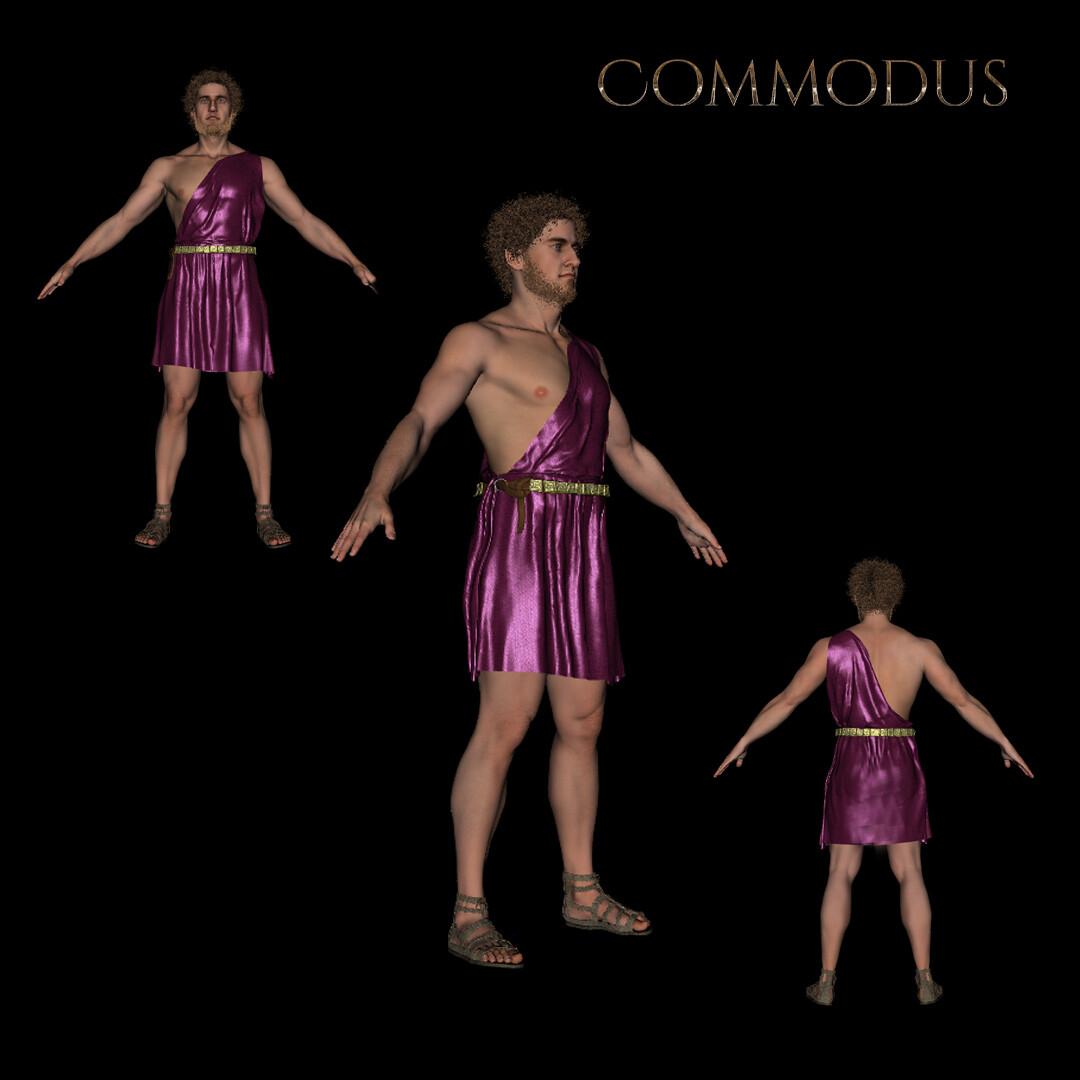 Comodus angle views