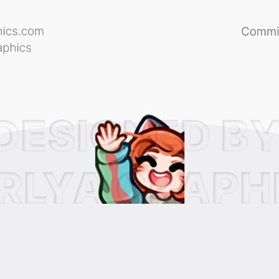 Aerlya graphics sample bittie aemote wave