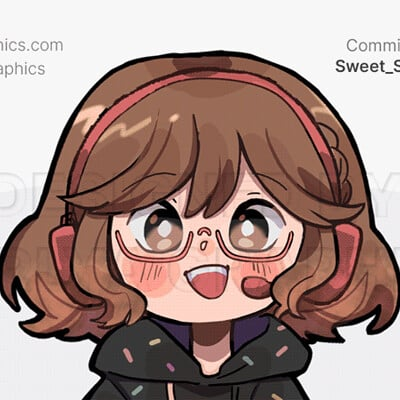 Aerlya graphics sample sweet sprinkles illustratedchibi small
