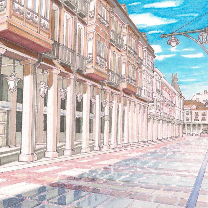 Palencia Main Street