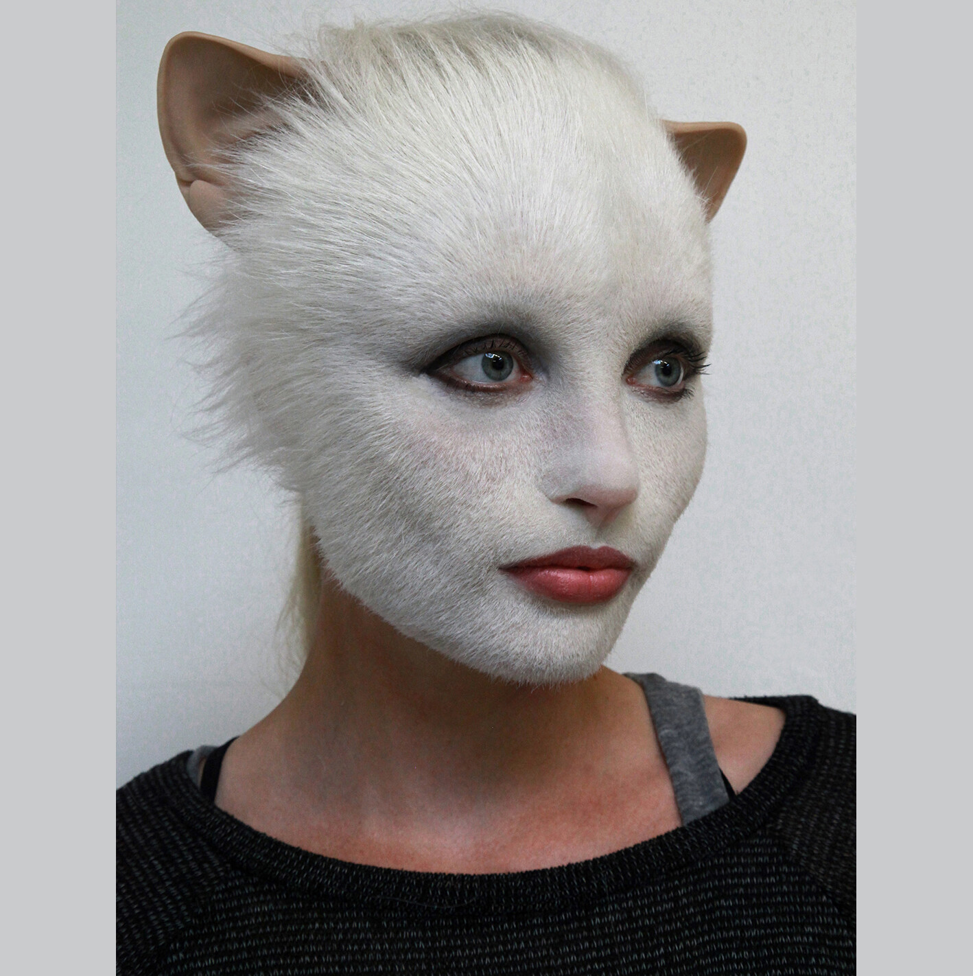 Cats/ Pitch 2016 Prosthetic Sculpture/ Test Makeup