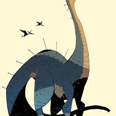Satoshi matsuura 2021 03 15 brontosaurus s