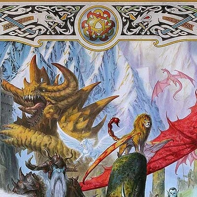 Milivoj ceran mceran 001 fantasy creatures collague