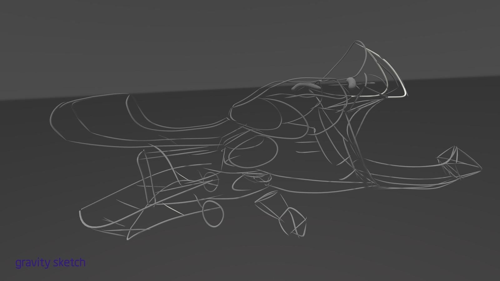 skething phase inside gravity Sketch
