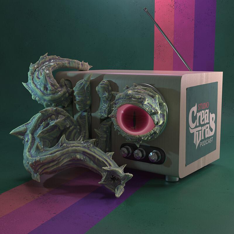 Studio Creaturas Fanart Challenge