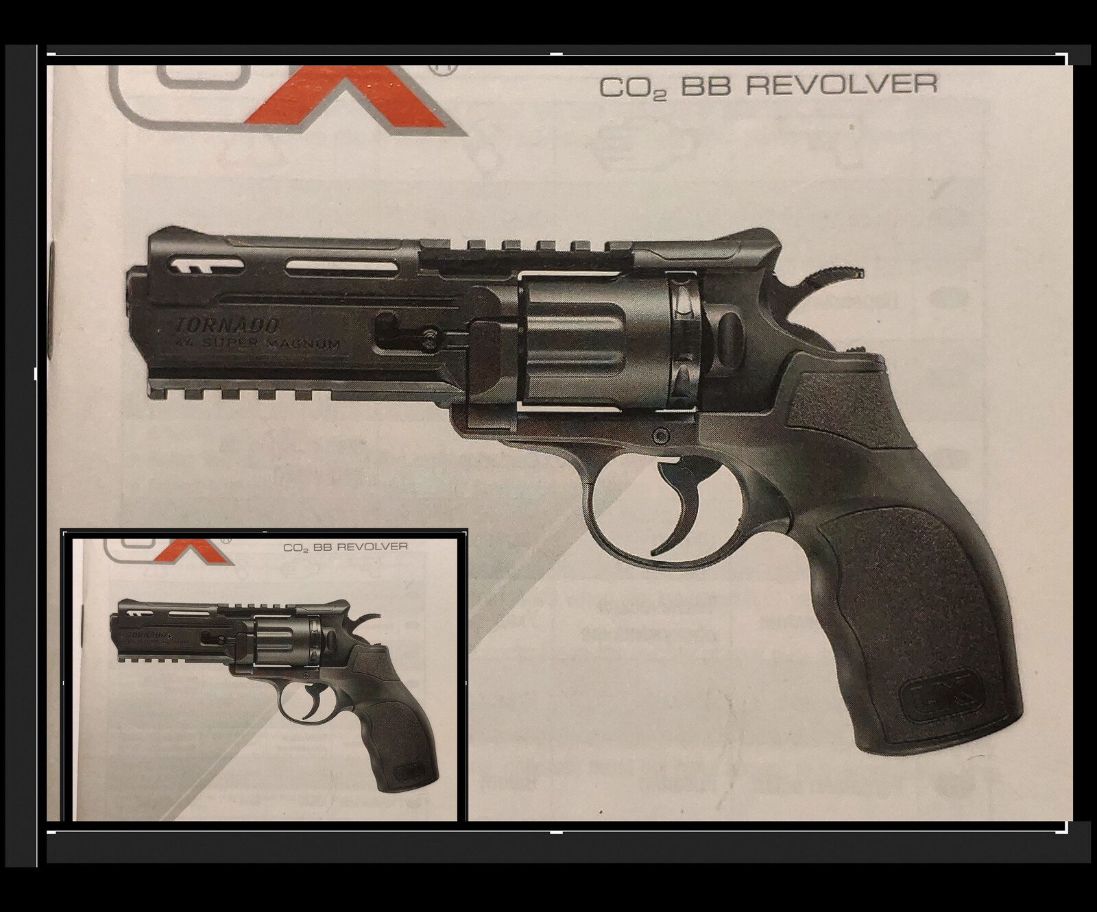 UX - Tornado Revolver (RED DEAD FanArt)