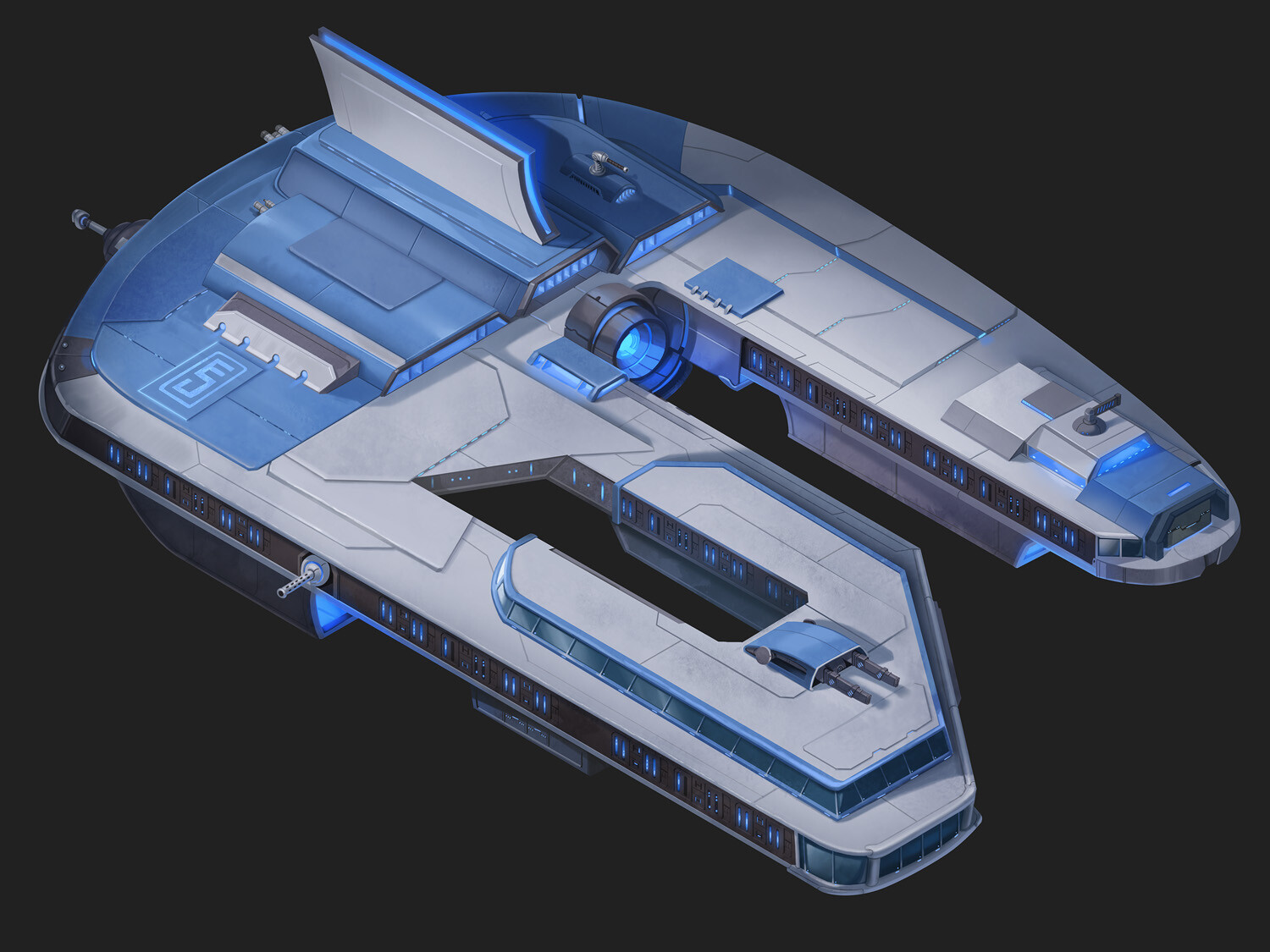 Negotiator Ship Exterior