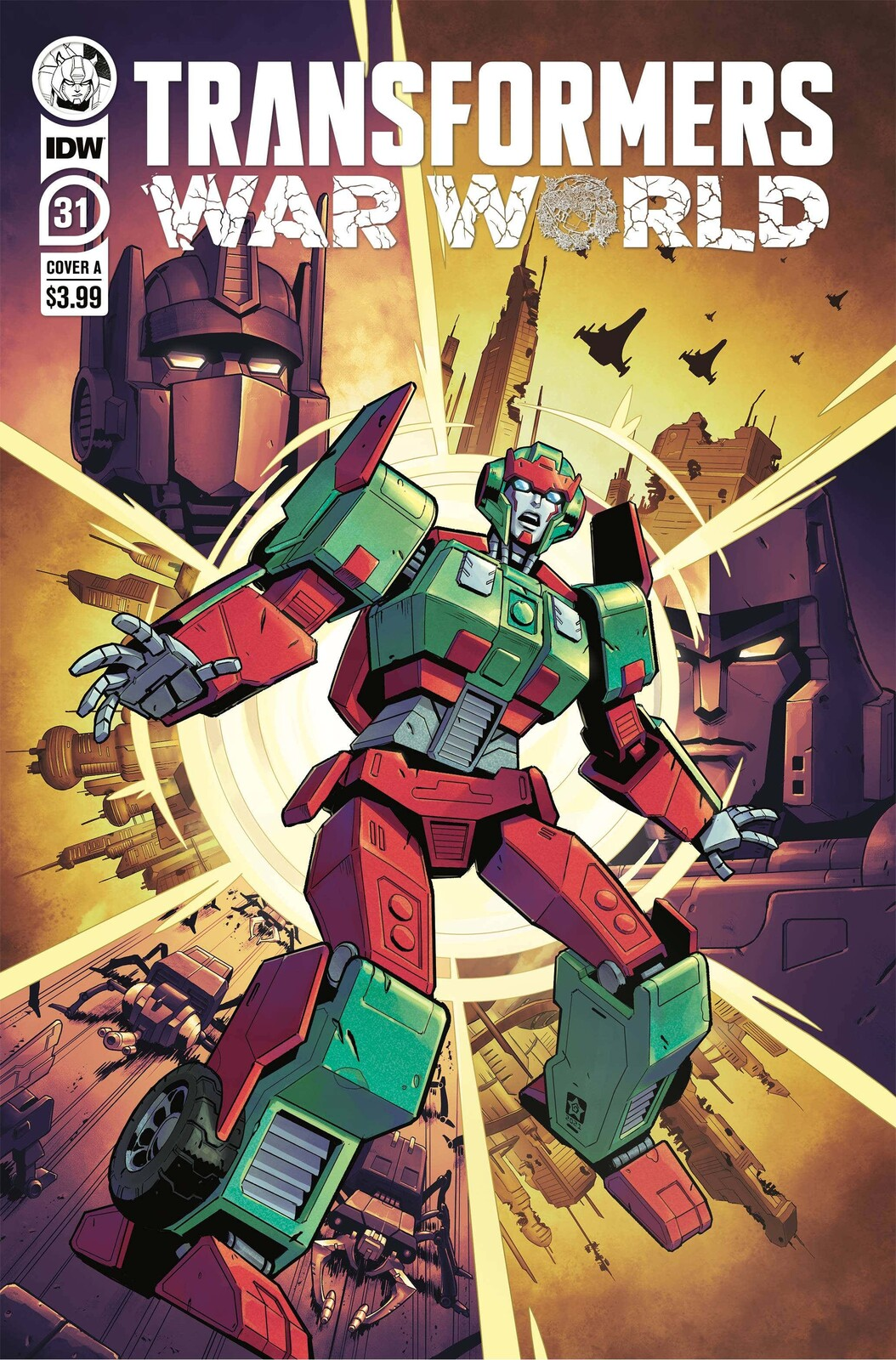 Transformers #31: Lord of Misrule Cover