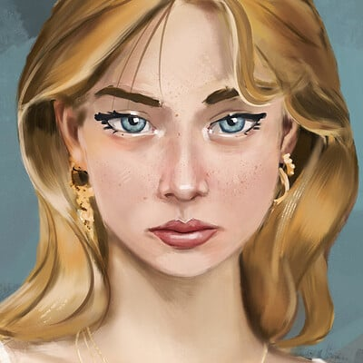 Eyekust 0012 cowgirl portrait x v2