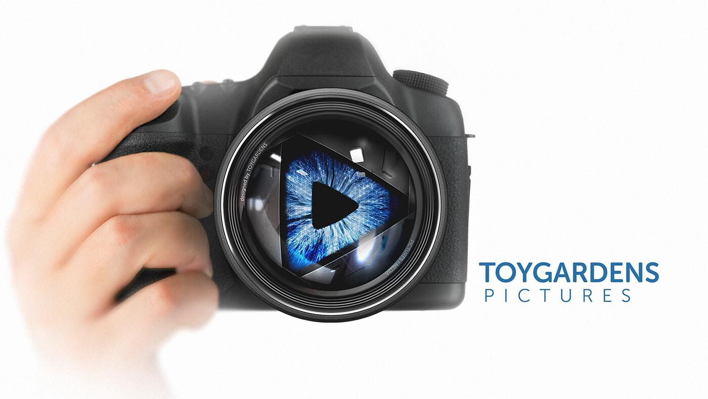 Toygardens Pictures - logo illustration
