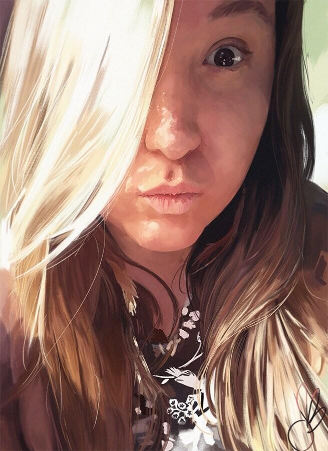 Claire Portrait