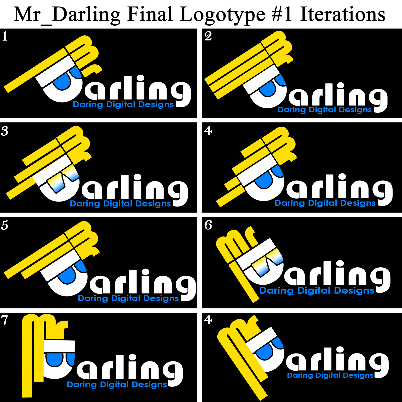 Mr_Darling Logotype Concepts #5