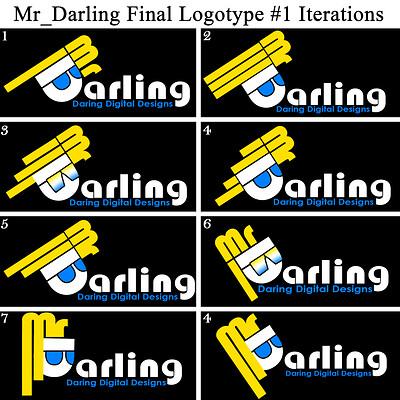 Christopher royse darling mr darling word logo 1 final iterations