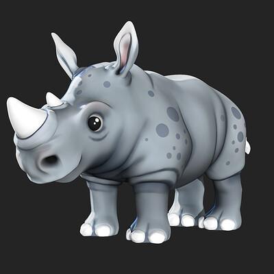 Tareq aghannou rhino front