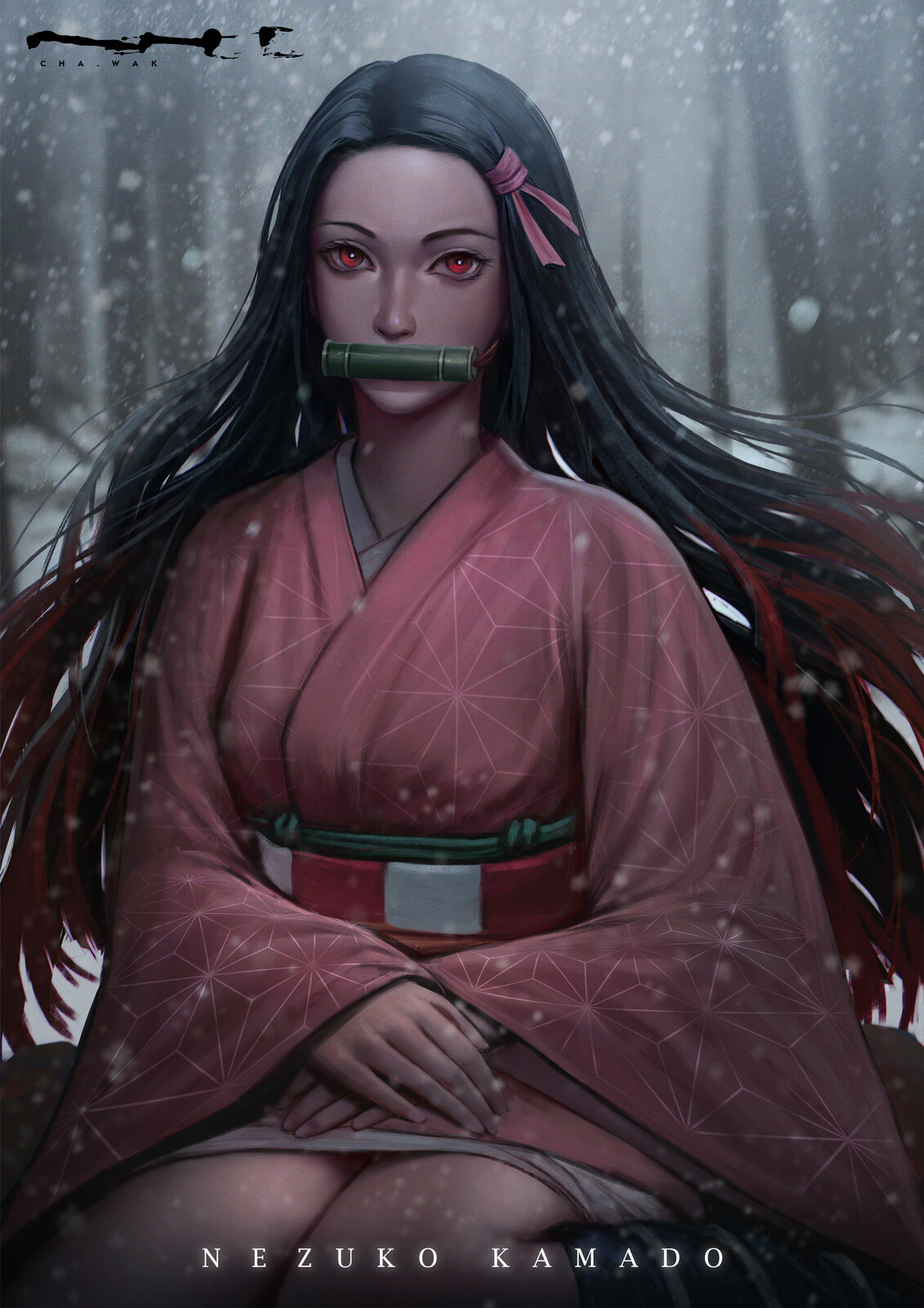 Demon Slayer - Nezuko Kamado - Fanart